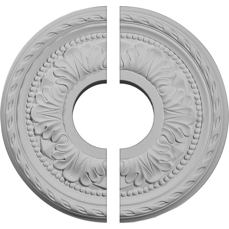 Ekena Millwork Palmetto 11.375-in x 11.375-in Urethane Ceiling Medallion
