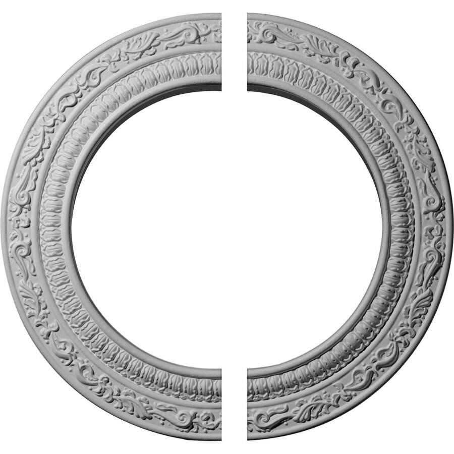 Ekena Millwork Andrea 12-in x 12-in Urethane Ceiling Medallion