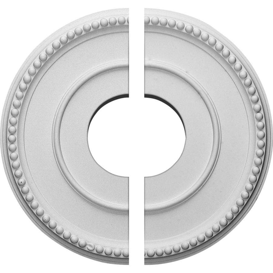 Ekena Millwork Bradford 12.5-in x 12.5-in Urethane Ceiling Medallion