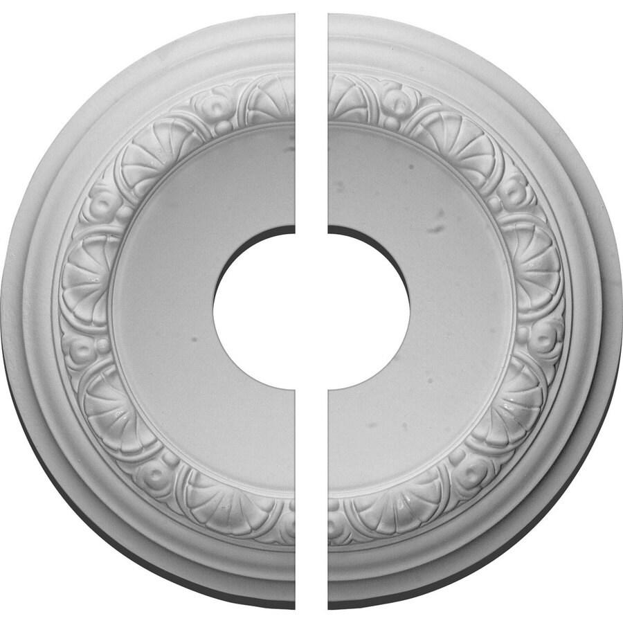 Ekena Millwork Carlsbad 12.5-in x 12.5-in Urethane Ceiling Medallion