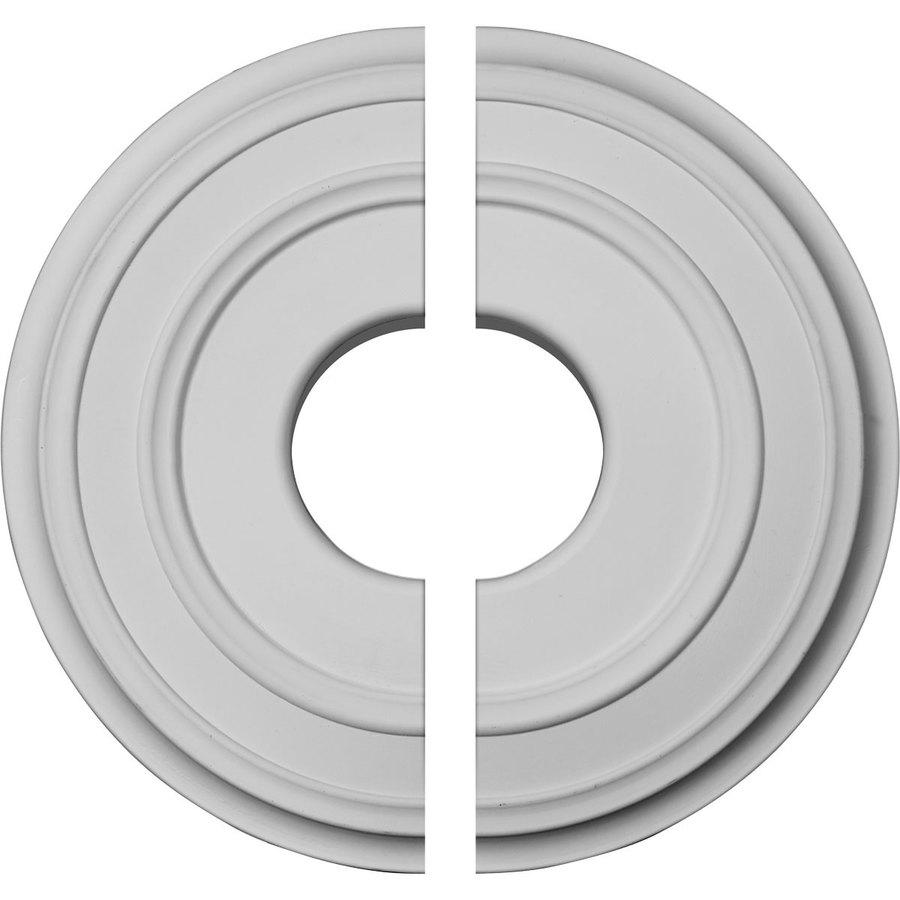 Ekena Millwork Classic 12.375-in x 12.375-in Urethane Ceiling Medallion