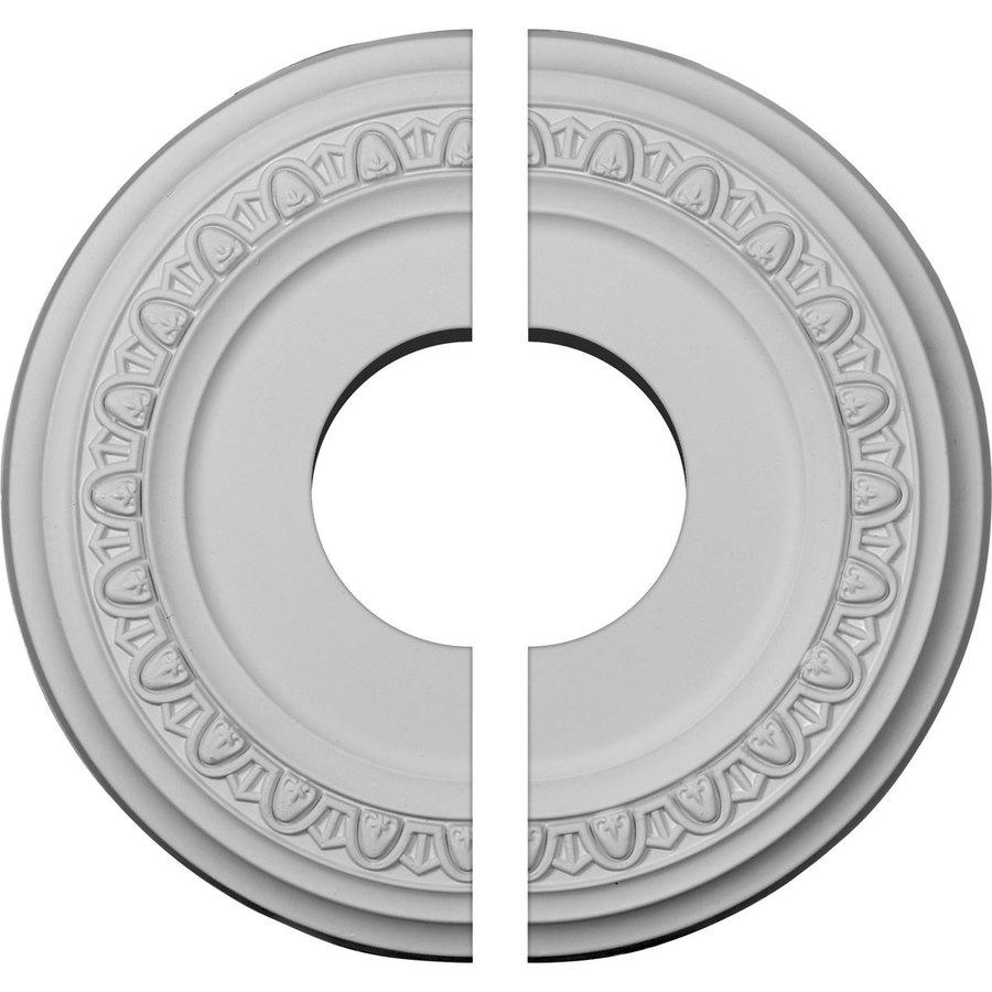 Ekena Millwork Jackson 12.25-in x 12.25-in Urethane Ceiling Medallion