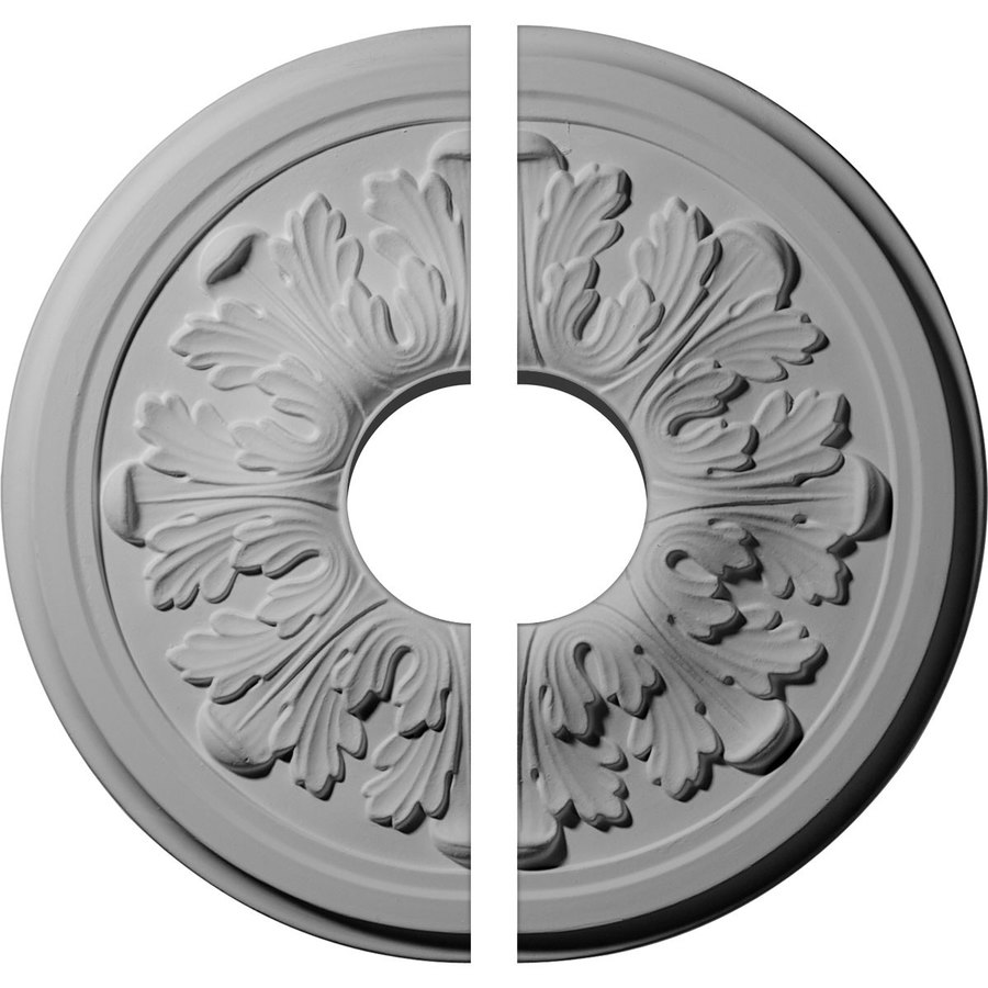 Ekena Millwork Acanthus 12.75-in x 12.75-in Urethane Ceiling Medallion