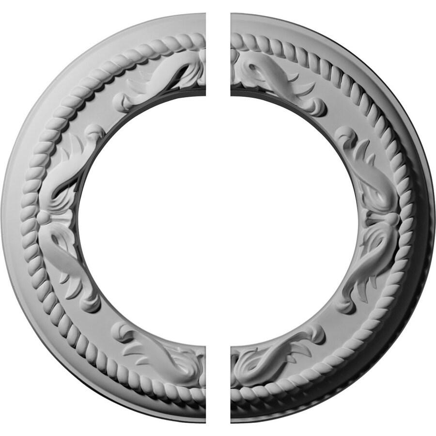 Ekena Millwork Medway 12.25-in x 12.25-in Urethane Ceiling Medallion