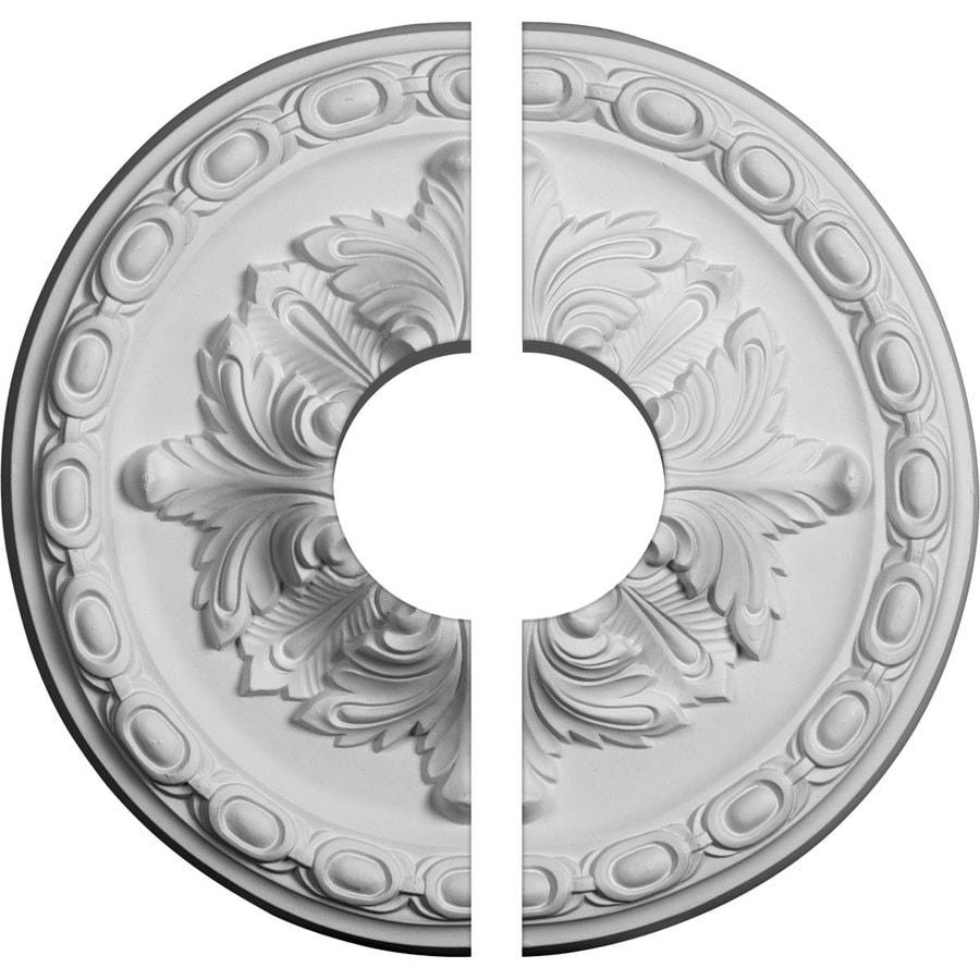 Ekena Millwork Stockport 11.75-in x 11.75-in Urethane Ceiling Medallion