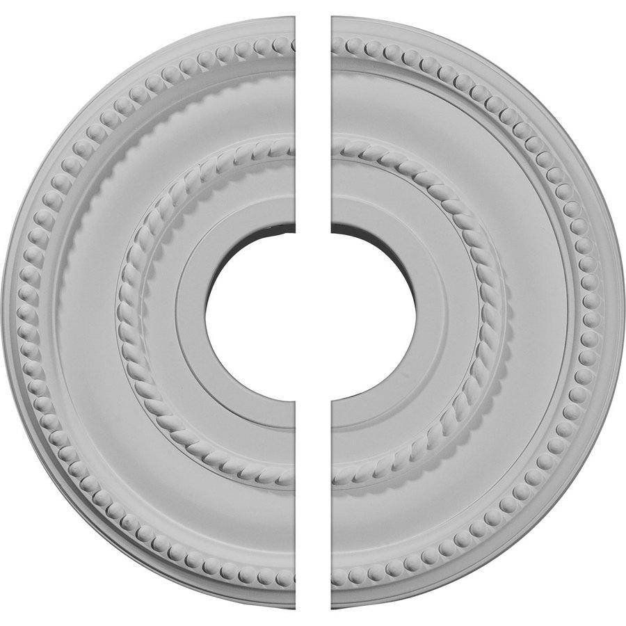 Ekena Millwork Valeriano 12.125-in x 12.125-in Urethane Ceiling Medallion