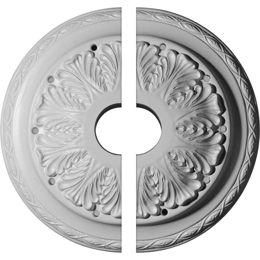 Ekena Millwork Asa 13.75-in x 13.75-in Urethane Ceiling Medallion