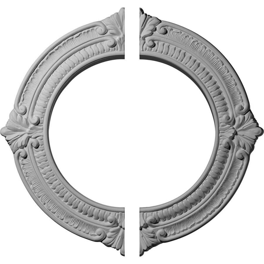 Ekena Millwork Benson 13.125-in x 13.125-in Urethane Ceiling Medallion