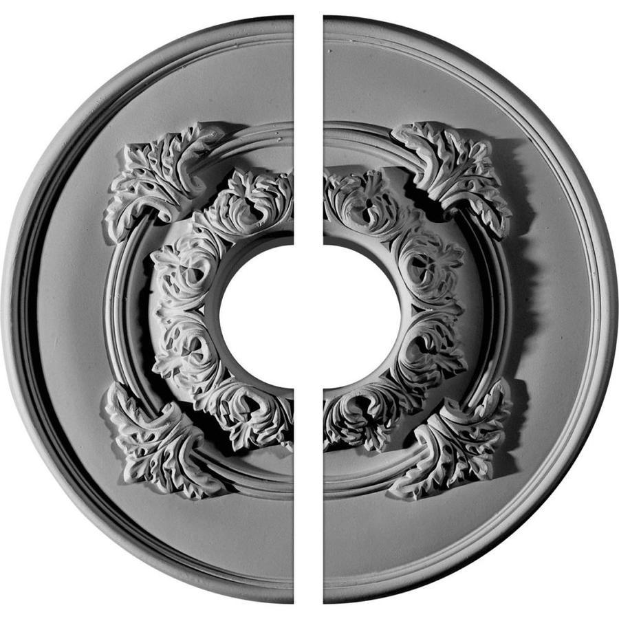 Ekena Millwork Monique 13.75-in x 13.75-in Urethane Ceiling Medallion
