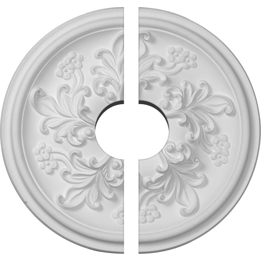 Ekena Millwork Katheryn 14.5-in x 14.5-in Urethane Ceiling Medallion