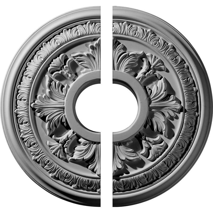 Ekena Millwork Baltimore 15.375-in x 15.375-in Urethane Ceiling Medallion