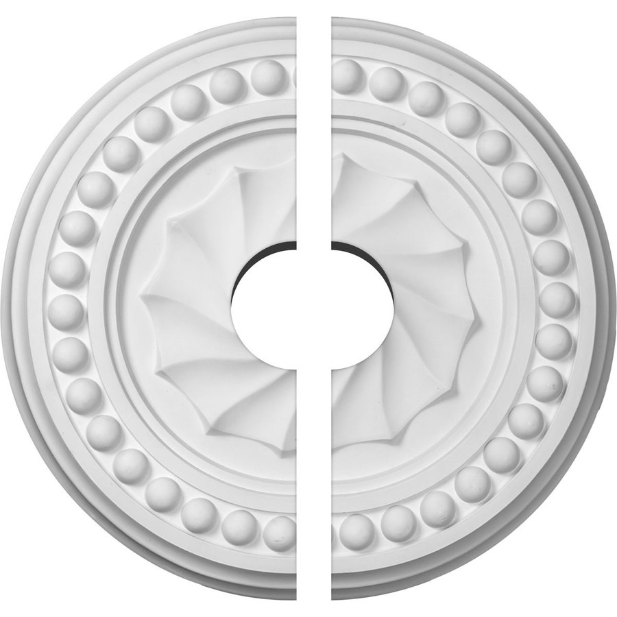 Ekena Millwork Foster 15.75-in x 15.75-in Urethane Ceiling Medallion