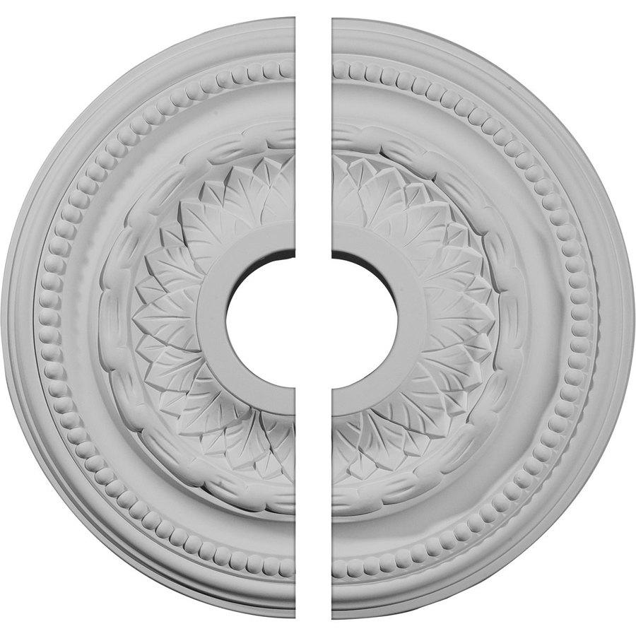 Ekena Millwork Galway 15.75-in x 15.75-in Urethane Ceiling Medallion