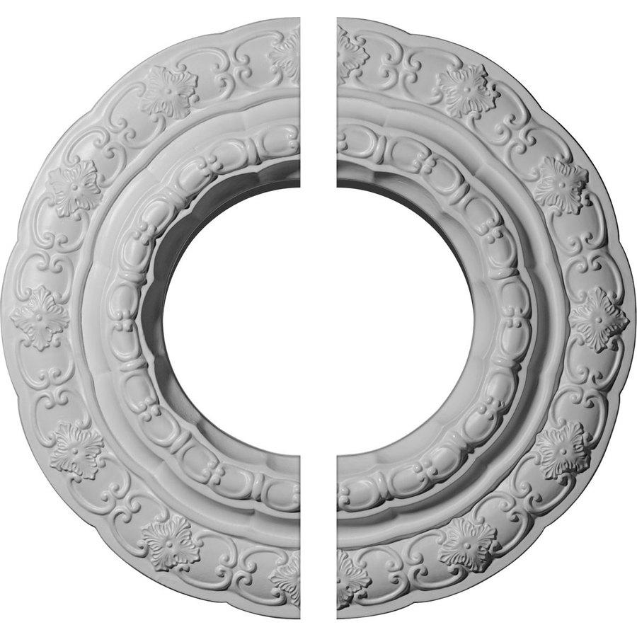 Ekena Millwork Lisbon 15.375-in x 15.375-in Urethane Ceiling Medallion