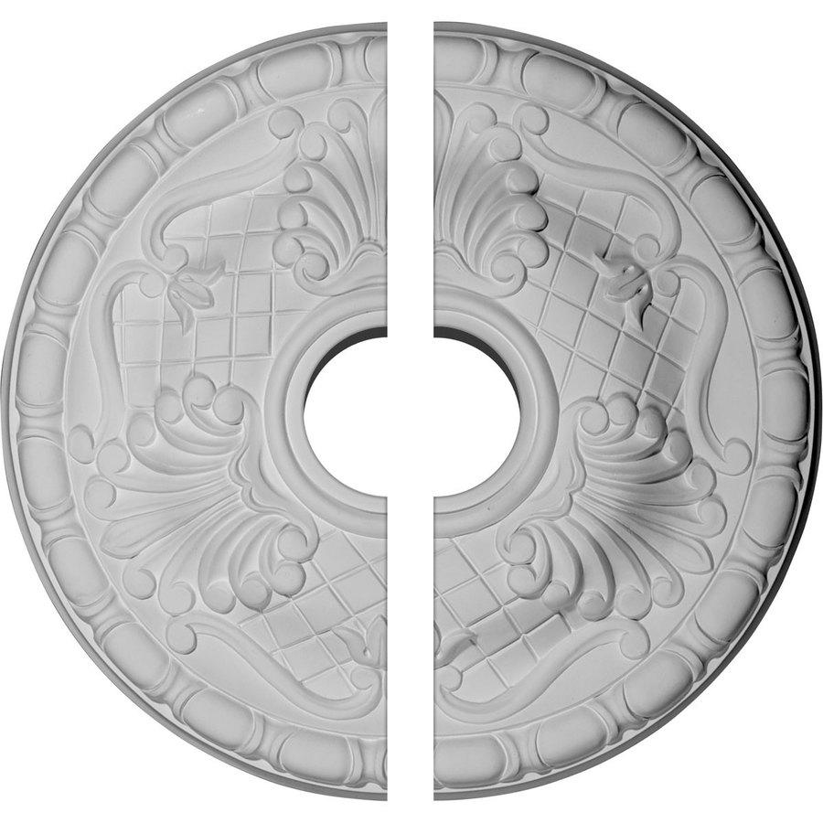 Ekena Millwork Amelia 15.75-in x 15.75-in Urethane Ceiling Medallion