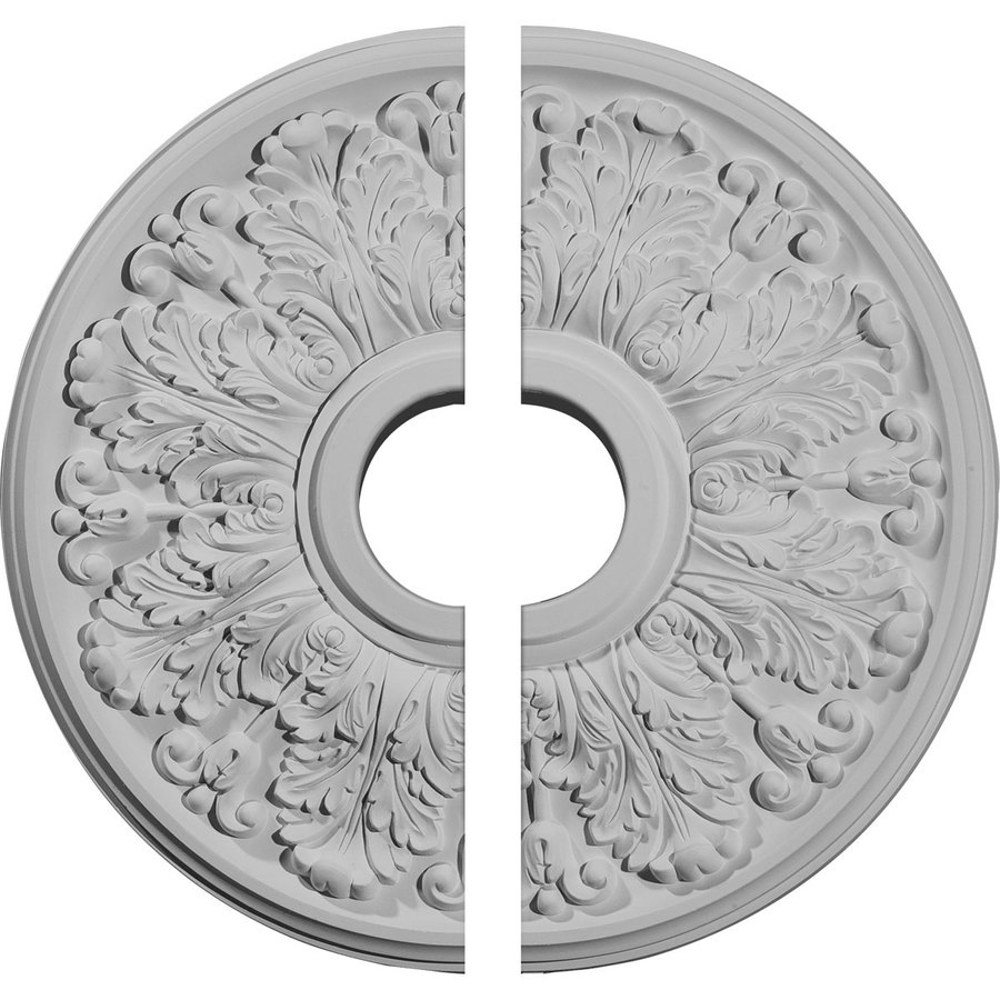 Ekena Millwork Apollo 16.5-in x 16.5-in Urethane Ceiling Medallion