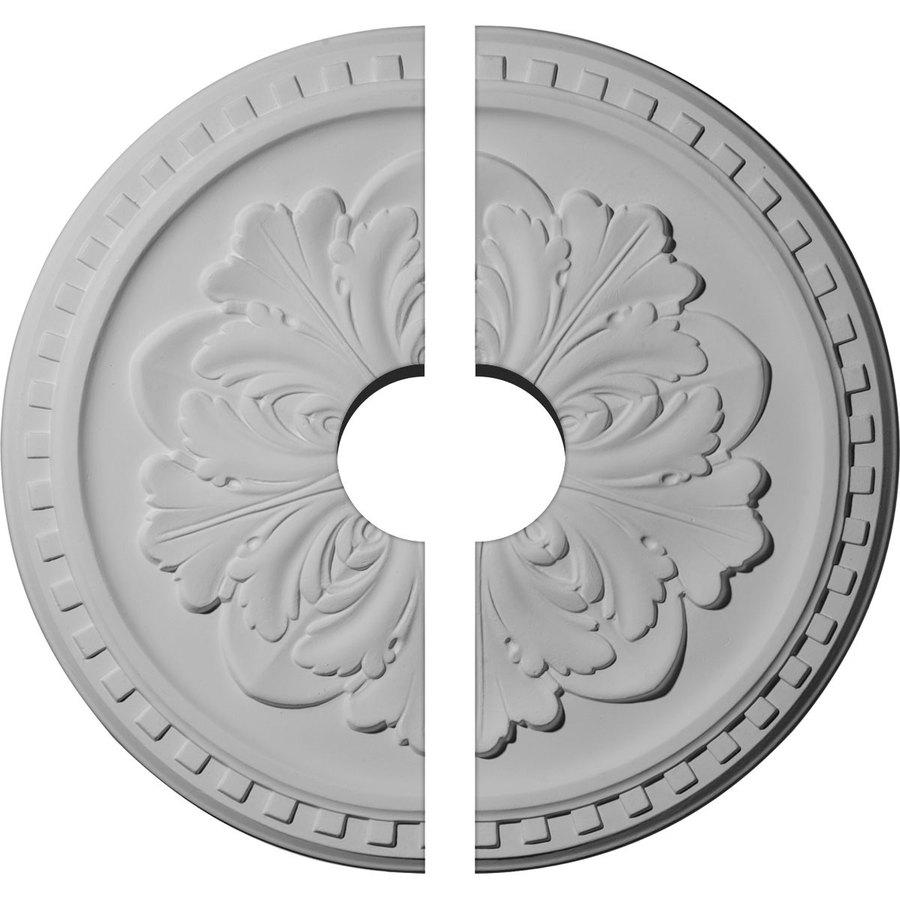 Ekena Millwork Emery 16.875-in x 16.875-in Urethane Ceiling Medallion