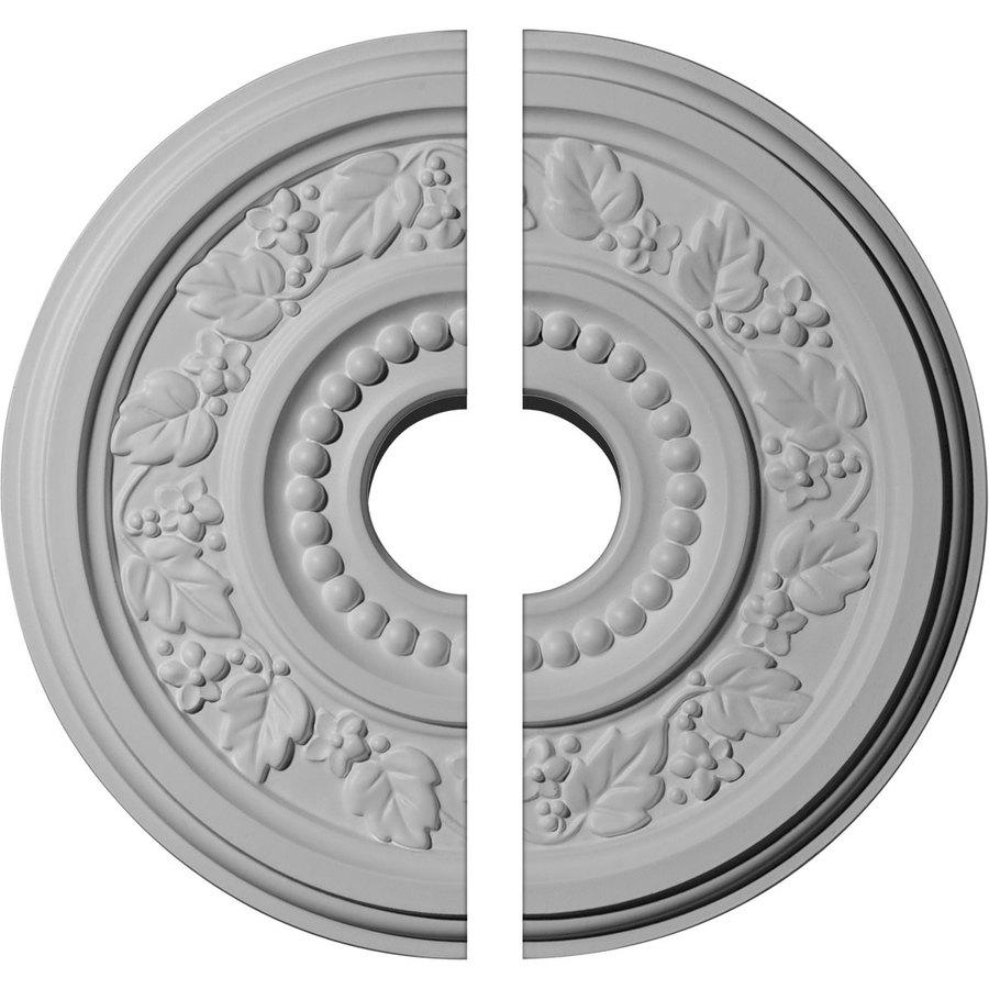 Ekena Millwork Genevieve 16.125-in x 16.125-in Urethane Ceiling Medallion