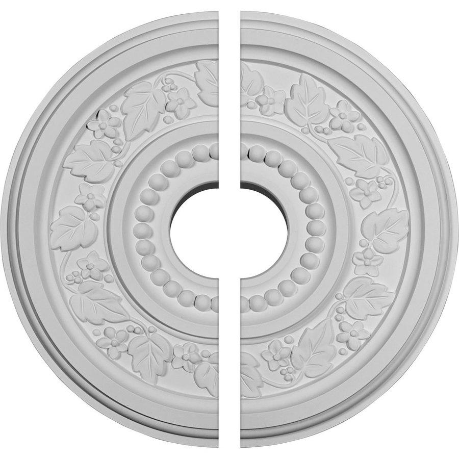 Ekena Millwork Marseille 16.125-in x 16.125-in Urethane Ceiling Medallion