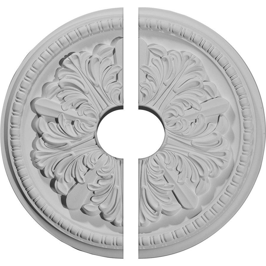 Ekena Millwork Swindon 16.875-in x 16.875-in Urethane Ceiling Medallion