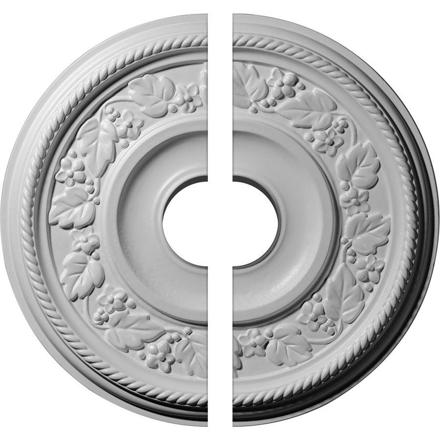 Ekena Millwork Tyrone 16.125-in x 16.125-in Urethane Ceiling Medallion