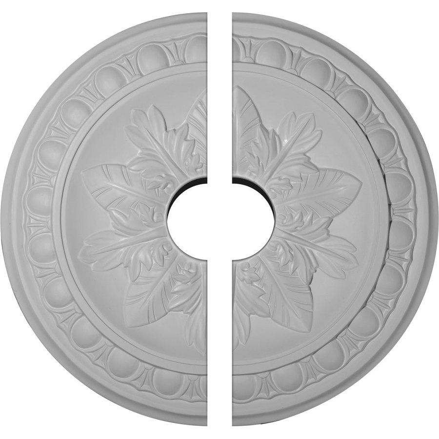 Ekena Millwork Exeter 17.75-in x 17.75-in Urethane Ceiling Medallion