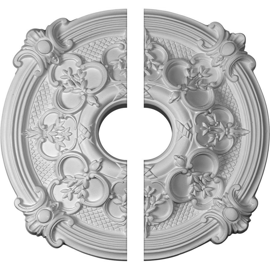 Ekena Millwork Hamilton 17.375-in x 17.375-in Urethane Ceiling Medallion