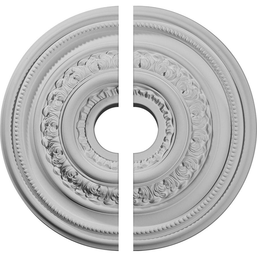 Ekena Millwork Orleans 17.625-in x 17.625-in Urethane Ceiling Medallion