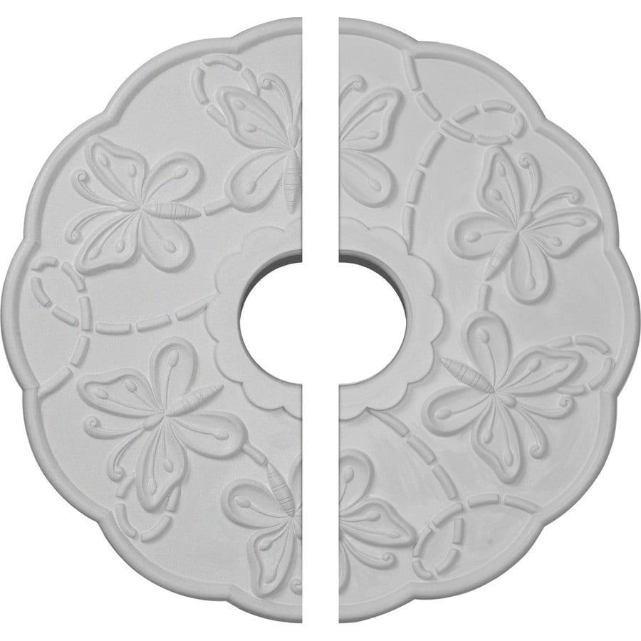 Ekena Millwork Terrones 17.875-in x 17.875-in Urethane Ceiling Medallion