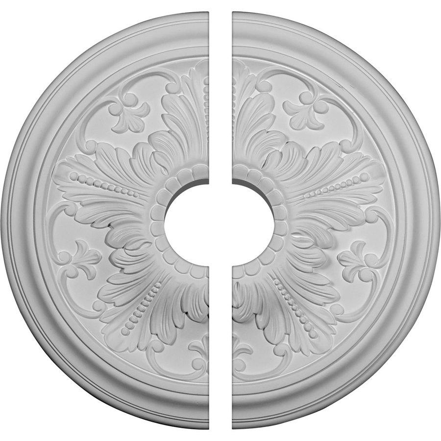 Ekena Millwork Vienna 16.875-in x 16.875-in Urethane Ceiling Medallion
