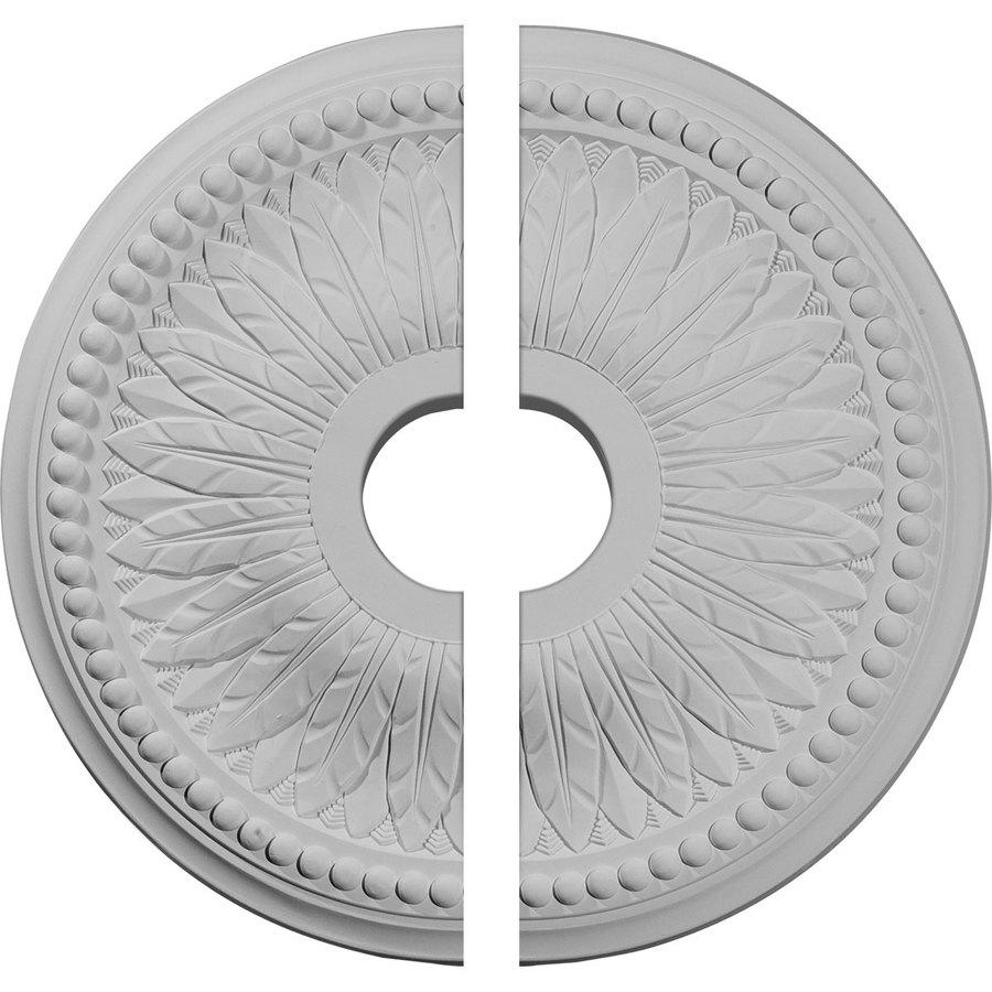 Ekena Millwork Bailey 18-in x 18-in Urethane Ceiling Medallion