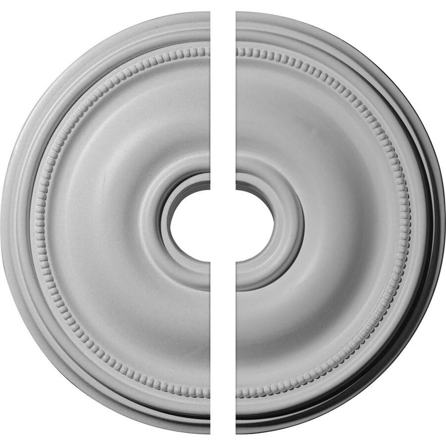 Ekena Millwork Bradford 18.125-in x 18.125-in Urethane Ceiling Medallion