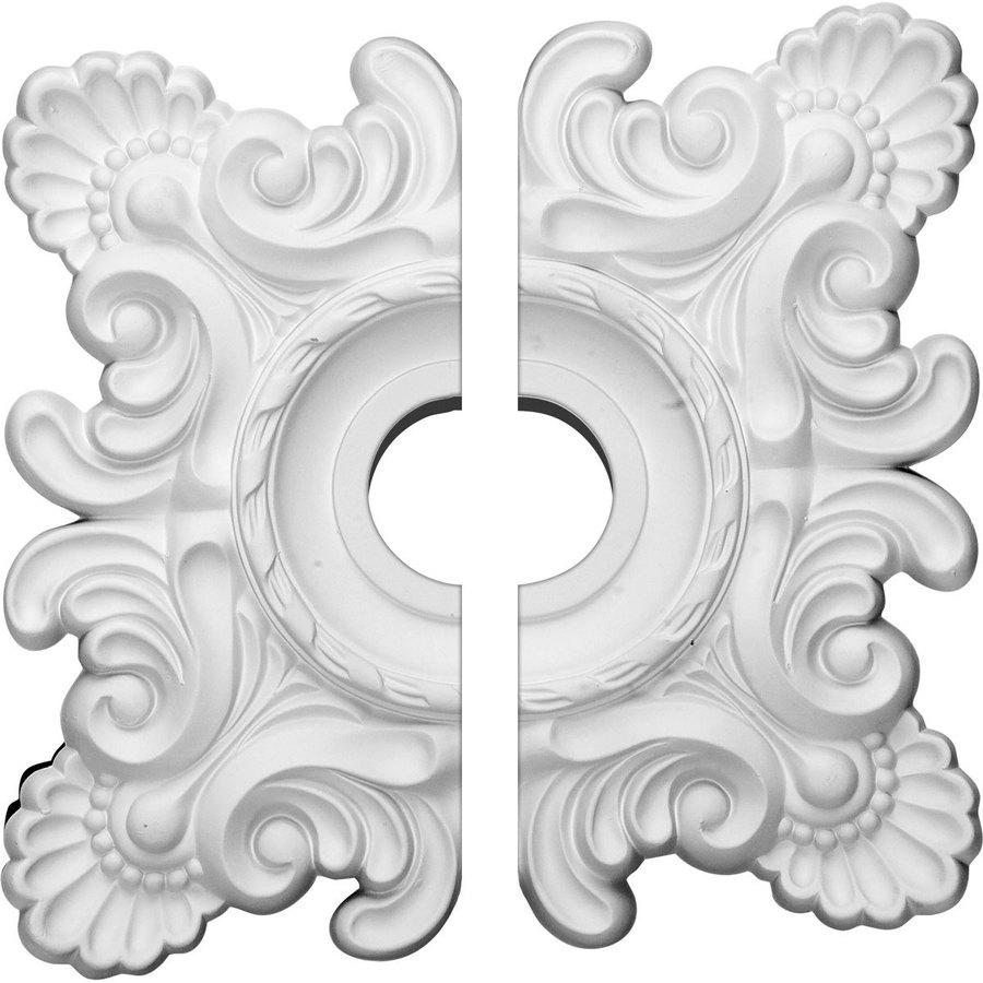 Ekena Millwork Crawley 18-in x 18-in Urethane Ceiling Medallion