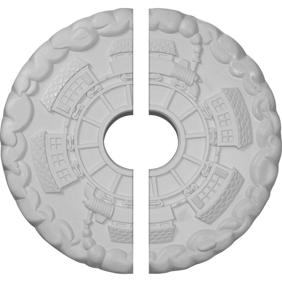 Ekena Millwork Kendall 18.5-in x 18.5-in Urethane Ceiling Medallion