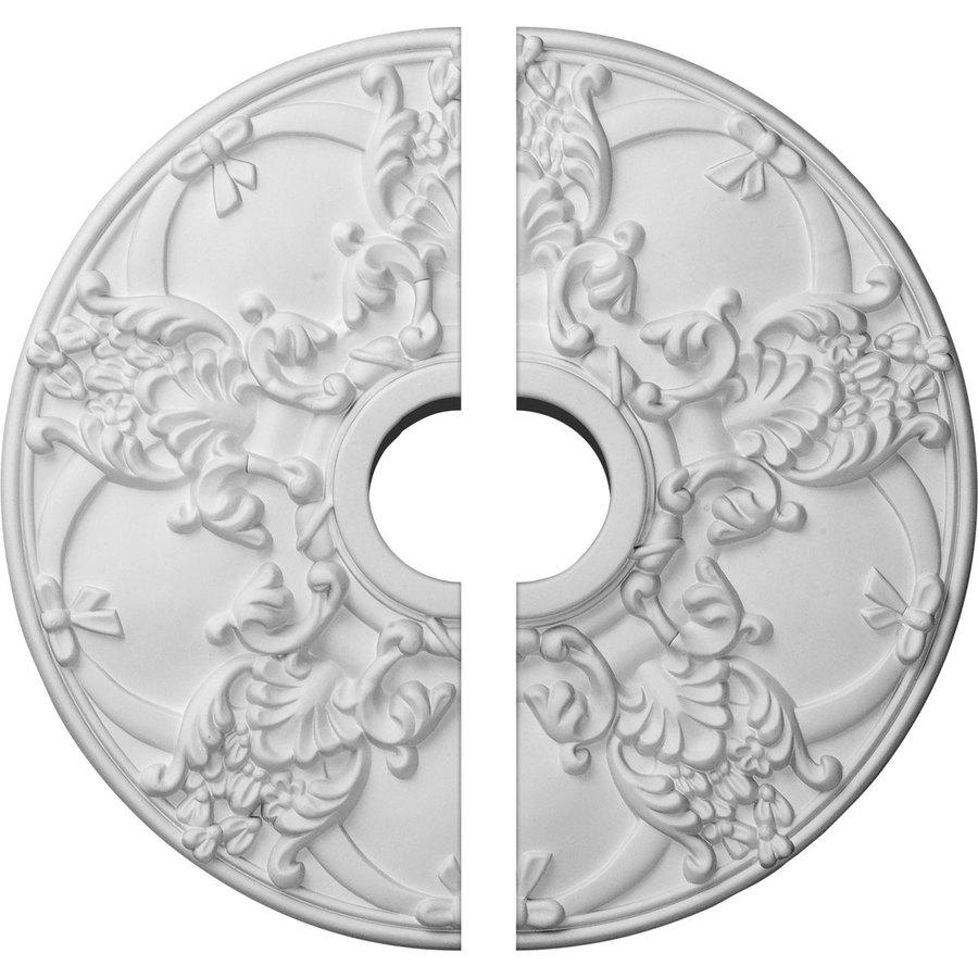 Ekena Millwork Norwich 18-in x 18-in Urethane Ceiling Medallion
