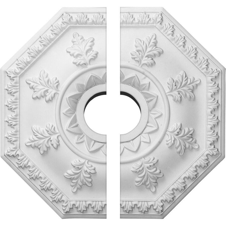 Ekena Millwork Nottingham 18-in x 18-in Urethane Ceiling Medallion