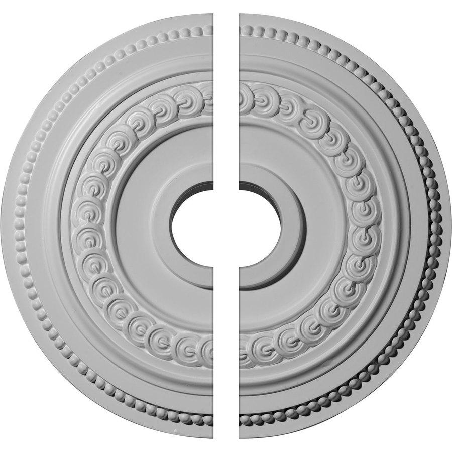 Ekena Millwork Oldham 18-in x 18-in Urethane Ceiling Medallion