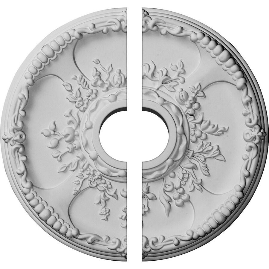 Ekena Millwork Antioch 18-in x 18-in Urethane Ceiling Medallion