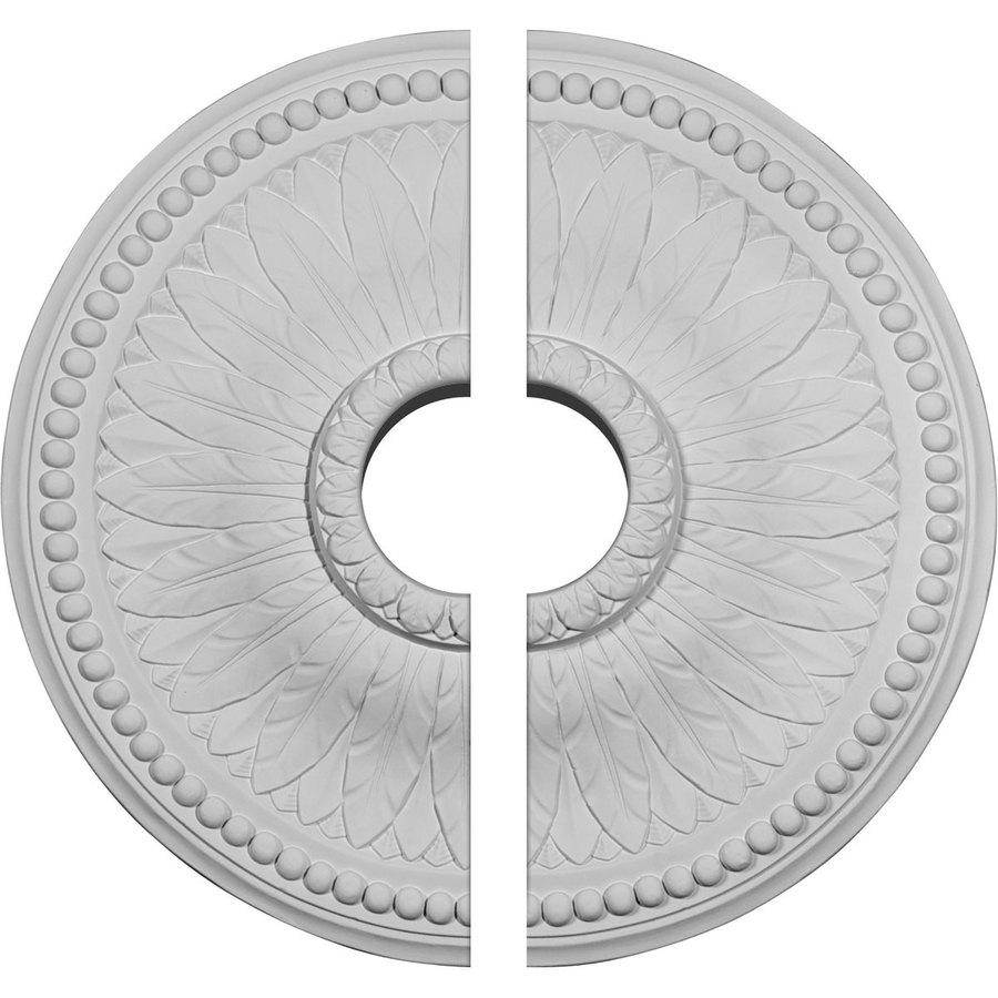 Ekena Millwork Bailey 18.125-in x 18.125-in Urethane Ceiling Medallion