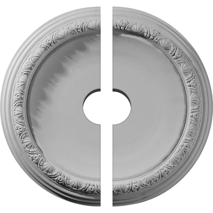Ekena Millwork Carlsbad 19.5-in x 19.5-in Urethane Ceiling Medallion