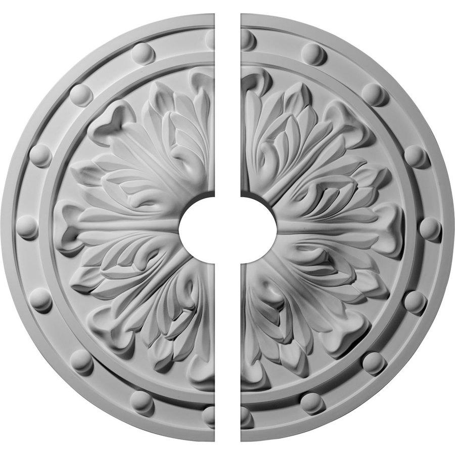 Ekena Millwork Foster 20.5-in x 20.5-in Urethane Ceiling Medallion