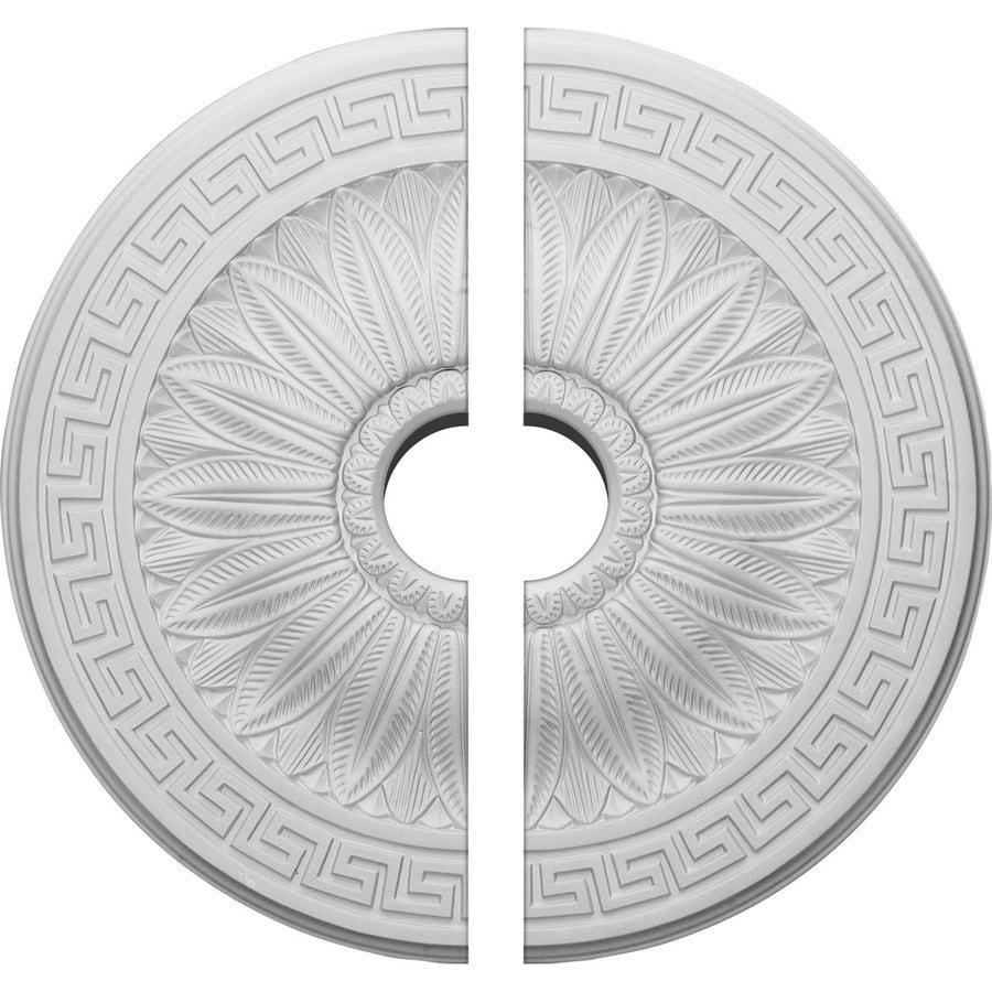 Ekena Millwork Randee 20-in x 20-in Urethane Ceiling Medallion