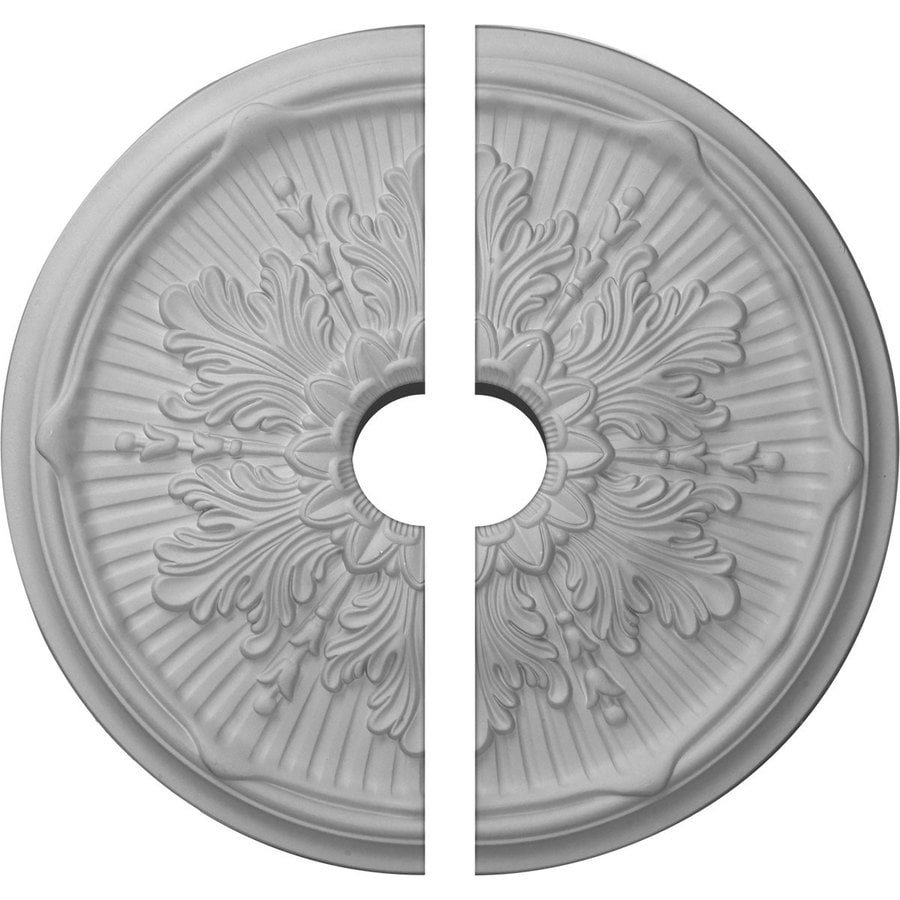 Ekena Millwork Luton 21-in x 21-in Urethane Ceiling Medallion