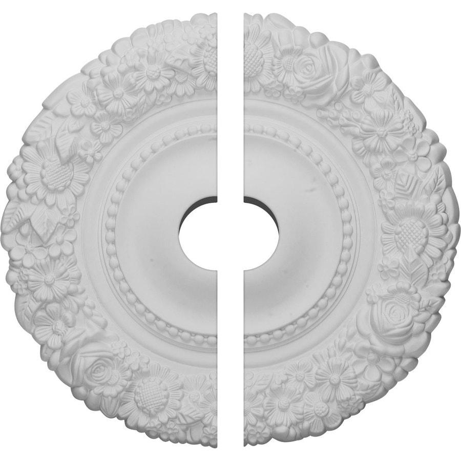 Ekena Millwork Marseille 21-in x 21-in Urethane Ceiling Medallion