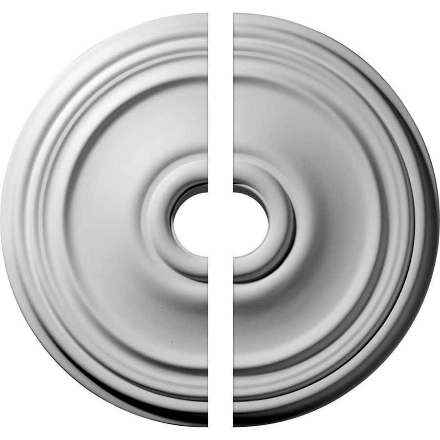 Ekena Millwork Reece 21-in x 21-in Urethane Ceiling Medallion
