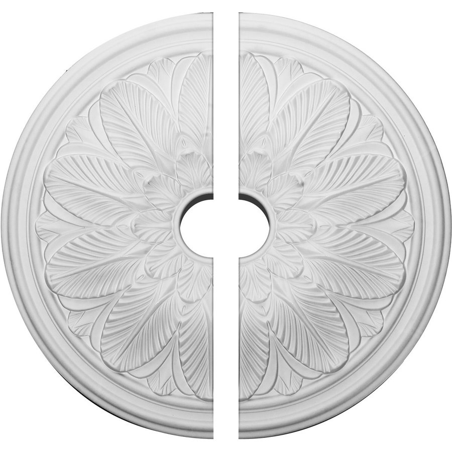 Ekena Millwork Bordeaux 22.625-in x 22.625-in Urethane Ceiling Medallion