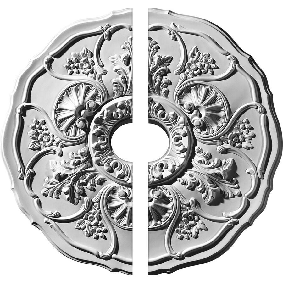 Ekena Millwork Cornelia 22.5-in x 22.5-in Urethane Ceiling Medallion
