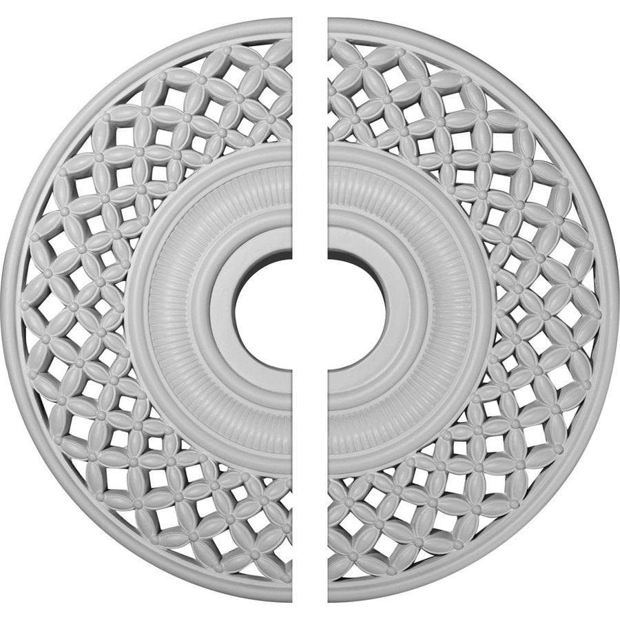 Ekena Millwork Robin 22.25-in x 22.25-in Urethane Ceiling Medallion