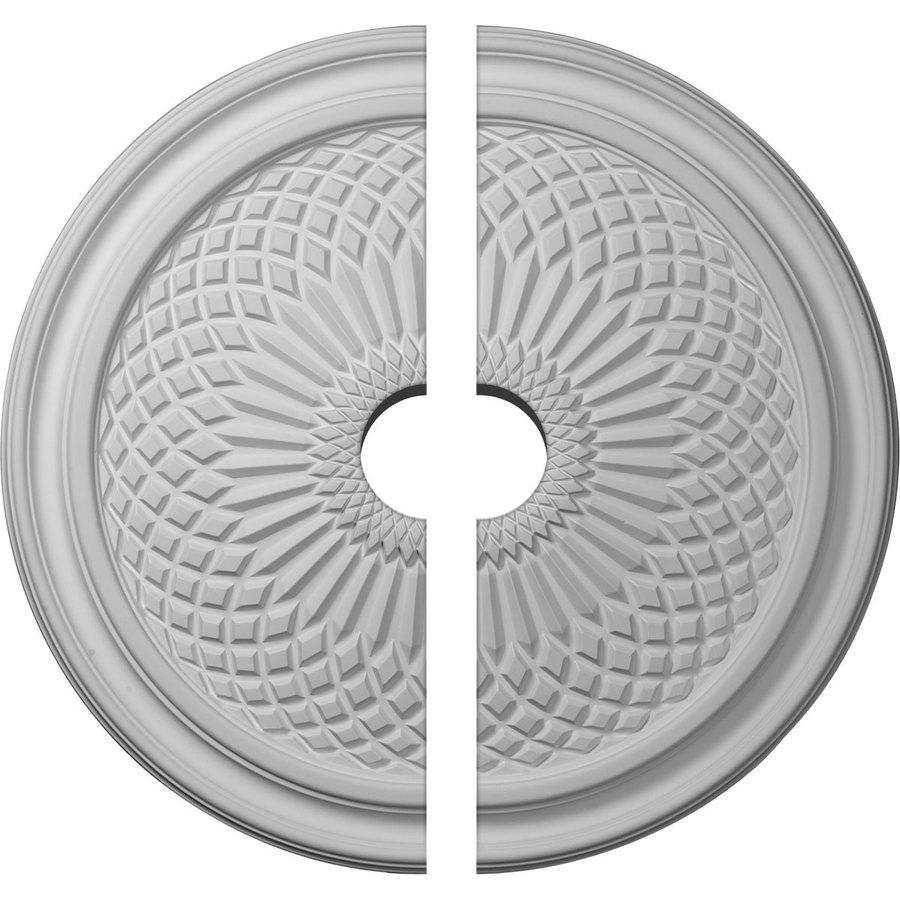 Ekena Millwork Trinity 22-in x 22-in Urethane Ceiling Medallion