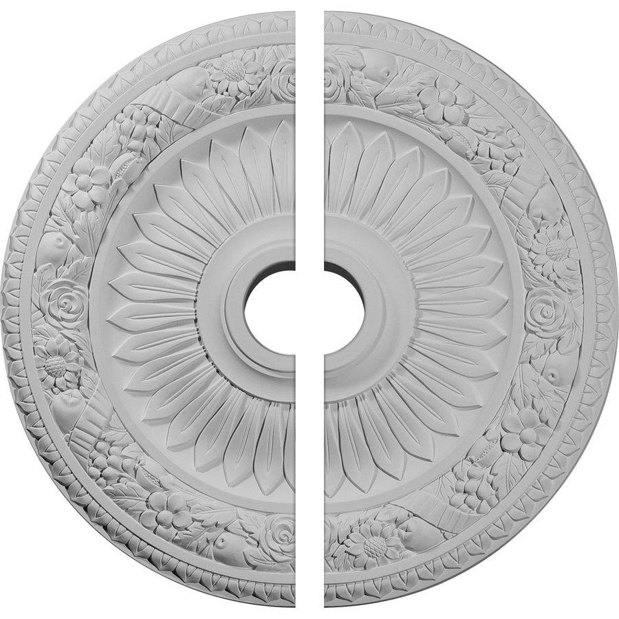 Ekena Millwork Bellona 23.625-in x 23.625-in Urethane Ceiling Medallion